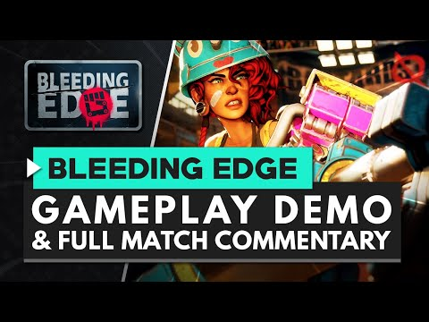 Bleeding Edge video shows chaotic combat, colourful heroes, and hoverboards | PC Gamer