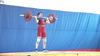 Мезенцев Алексей, 14 лет, вк 77 Толчок 84 кг 2 подход