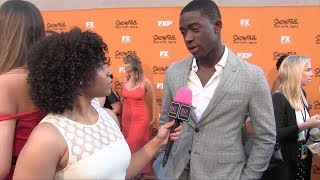 DAMSON IDRIS talks how he connected with his character