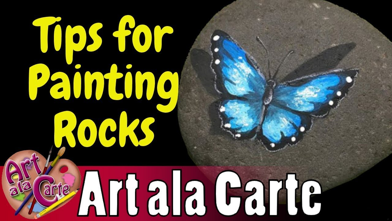 Tip for painting rocks youtube tip for painting rocks solutioingenieria Images