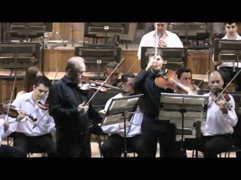 Petronius  Negrescu conducting  - Simfonia Concertante Mozart - KV 364