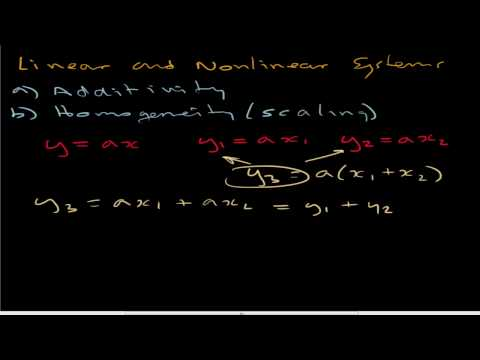 Linear and NonLinear Equations