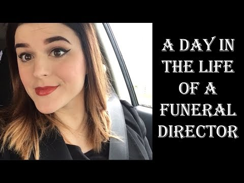 VLOG: A Day in the Life of a Funeral Director | Little Miss Funeral
