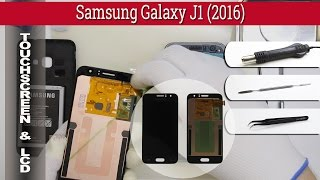 How to replace 📱 🔧 LCD & Digitizer Samsung Galaxy J1 (J120) 2016 Removal