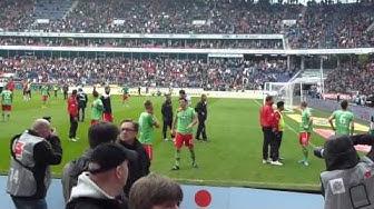 Abschied mit Tränen die letzten Minuten in Liga 1   Hannover 96 - Fortuna Düsseldorf 18.05.13  F95