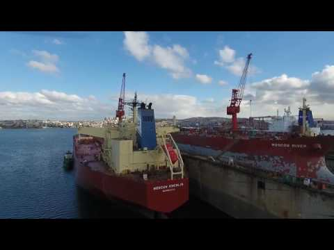 Transbosphor Maritime  Istanbul Port Agency  MOSCOW KREMLIN, MOSCOW RIVER and SCF PROGRESS Ships