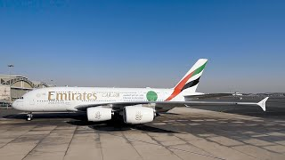 EK2021 'ChooseToVaccinate' Livery | Emirates A380 | Emirates Airline
