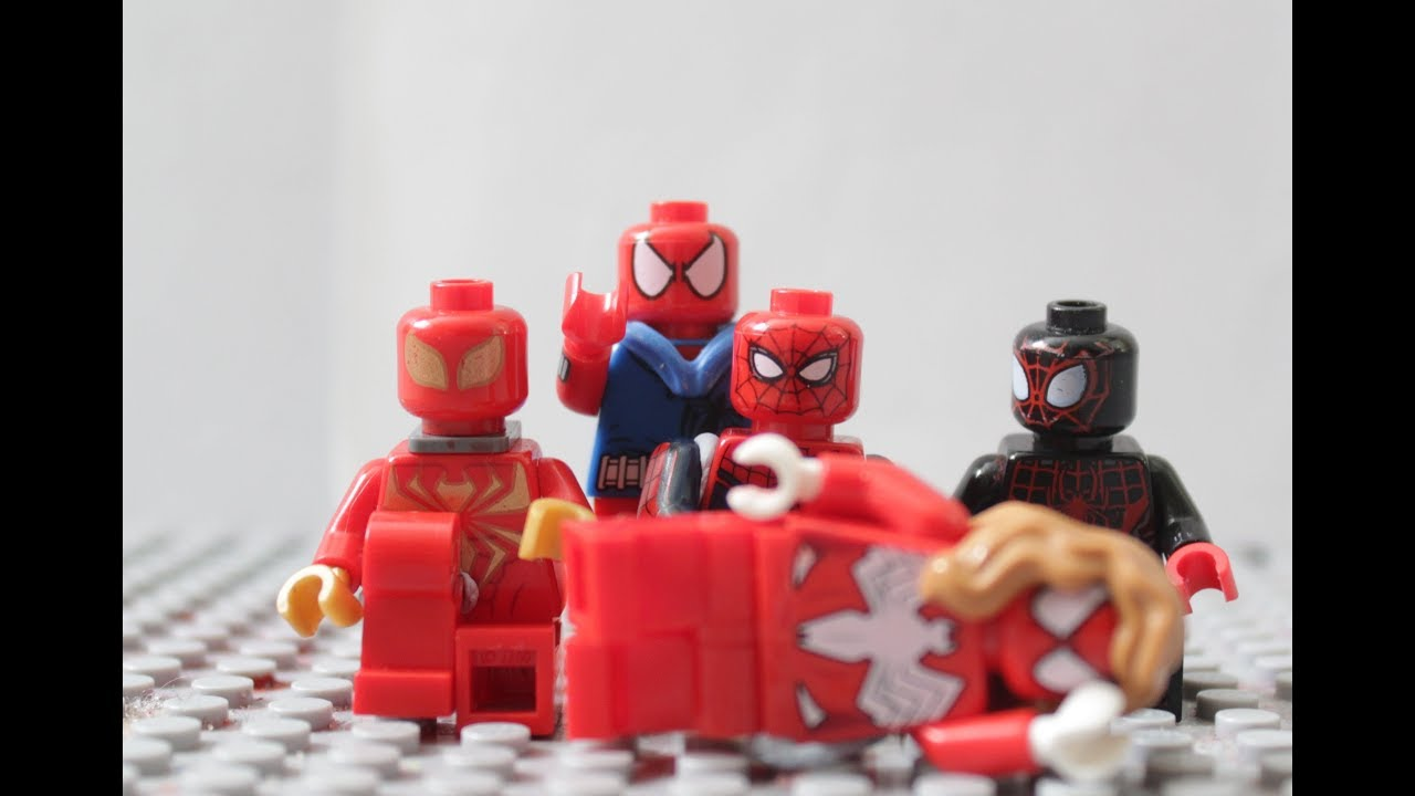Lego Spider Man Enter The Spider Verse Youtube
