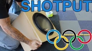 Subwoofer Olympics (Event 1 of 4) - Shotput!