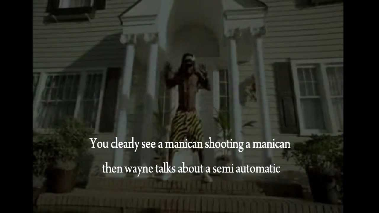 Illuminati behind batman shooting (lil wayne)