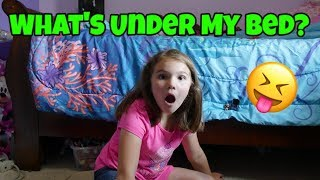 What's Under My Bed Challenge!