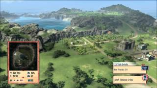 Tropico 4 -  Let's Play - part 1 - Getting Started - Xbox 360 - Commentary