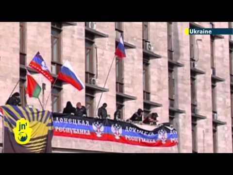 Ukrainian Separatist Threat: Kremlin-backed activists in Donetsk demand Crimea-style referendum