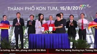 [HTV9 - Thời sự 20h] Khởi công khu đô thị hiện đại tại Kon Tum