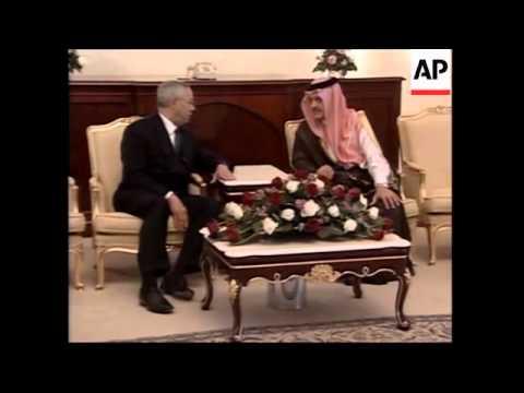 WRAP Powell meets royal family, FM as Saudis propose Muslim force