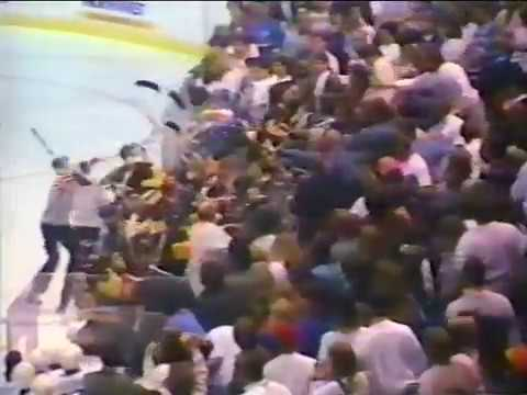 Tri-City Americans Brawl with Seattle Fans