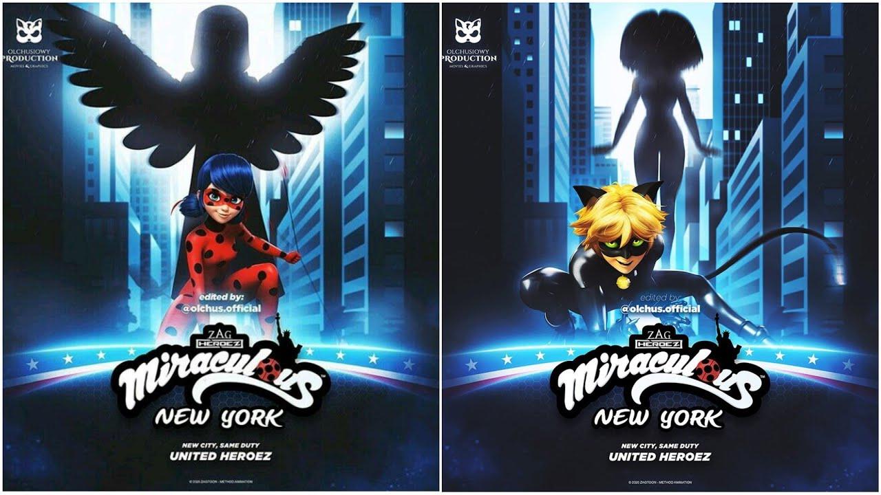 (PARODIA) del adelanto del especial de Nueva York de Miraculous las aventuras de Ladybug y Chat noir