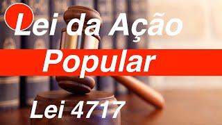 Lei 4717   Lei da Ação Popular
