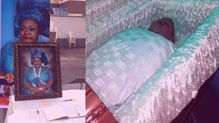 This Will Make u Cry Unseen Heartbreaking Video From The Burial Ceremony Of Jide Kosokos Late Wife