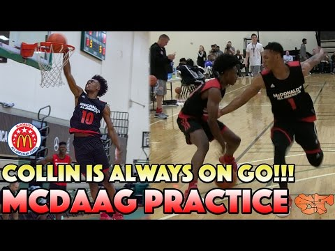 Collin Sexton is ALWAYS ON GO!!!! | McDonald