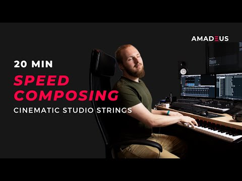 20min Speed Composing with Cinematic Studio Strings