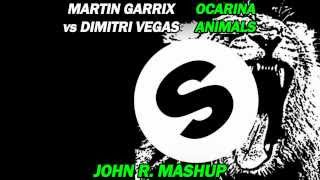Martin Garrix vs Dimitri Vegas - Ocarina Animals (John R  Mashup) [FREE DOWNLOAD]