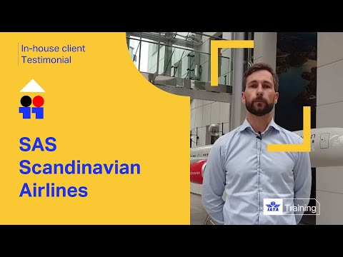 In-house client testimonial - SAS Scandinavian Airlines