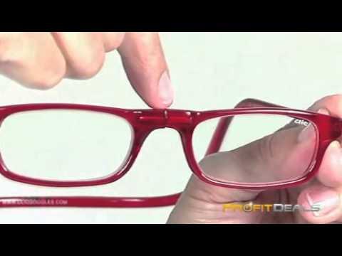 0c950986fb Διαιρούμενα Γυαλιά Πρεσβυωπίας - Click Readers Magnetic - YouTube