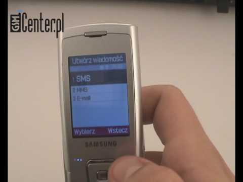 Prezentacja telefonu Samsung SGH-E900