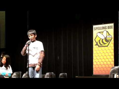 2011 Billerica Spelling Bee - Grade 5