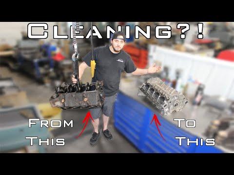 How do WE clean YOUR engine parts in our machine shop? @Jim's Automotive Machine Shop, Inc.