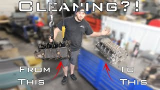 How do WE clean YOUR engine parts in our machine shop? @Jim's Automotive Machine Shop, Inc.