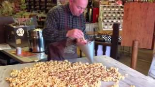 Brian's Making Chocolate Drizzled Caramel Corn Today!