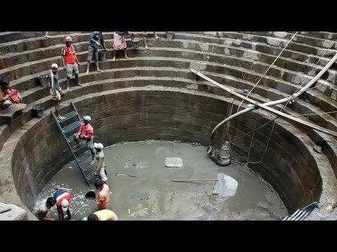 Conserving Hazrat Nizamuddin Baoli - 13th century stepped well in Hazrat Nizamuddin Basti