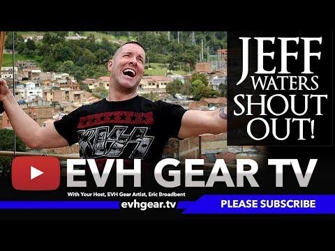 Jeff Waters Of Annihilator EVH Gear TV Show ID