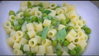 Pasta è Piselli (pasta With Peas) - Pina Cucina Ep. 24