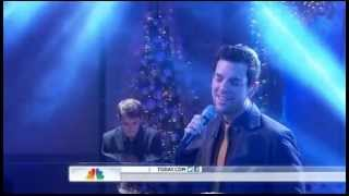"""Chris Mann - Roads (live on """"Today"""")"""