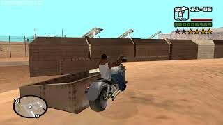 How to get 3 Miniguns  at very beginning of the game - GTA San Andreas