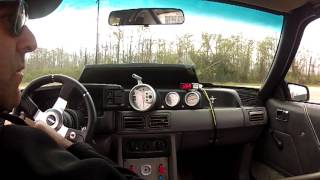 408 Mustang Fox Stroker Coupe Wide Open Tuning Run #2