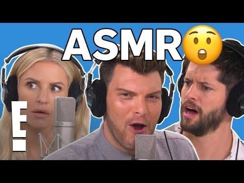 Morgan Stewart & Hunter March on The ASMR Talk Show | E!
