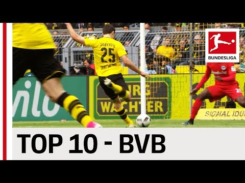 Top 10 Goals - Borussia Dortmund - 2016/17 Season