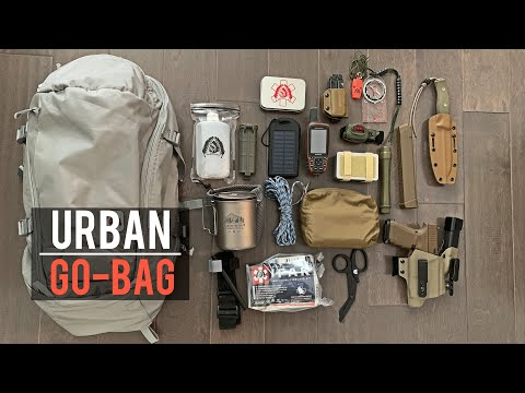 My Urban Bugout Bag 2020!