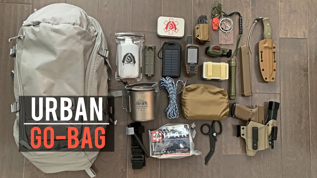 My Urban Bugout Bag 2020! - YouTube
