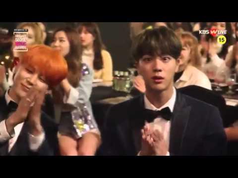 160114 - BTS moments Seoul Music Awards
