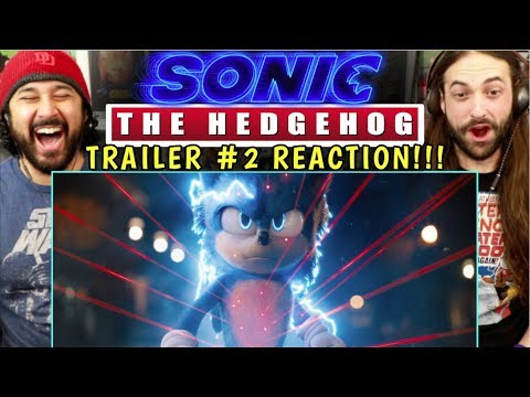 SONIC THE HEDGEHOG (2020) - New TRAILER (#2) | REACTION!!!