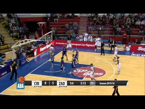 Full: Cibona - Zadar [ABA – Round 14] [13/12/2015]