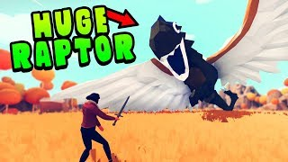 TABS - I Made EPIC RAPTORS With The UNIT CREATOR & This Happened - Totally Accurate Battle Simulator