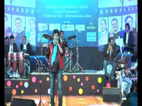 Prashant Naseri sings HAAL KYA HAI DILON KA in Grand LP Nite JAIPUR