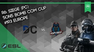 DC Vs. Vuptrox - Rainbow Six: Siege (Full Game)