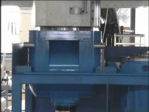 Milling heads changed by CyTec